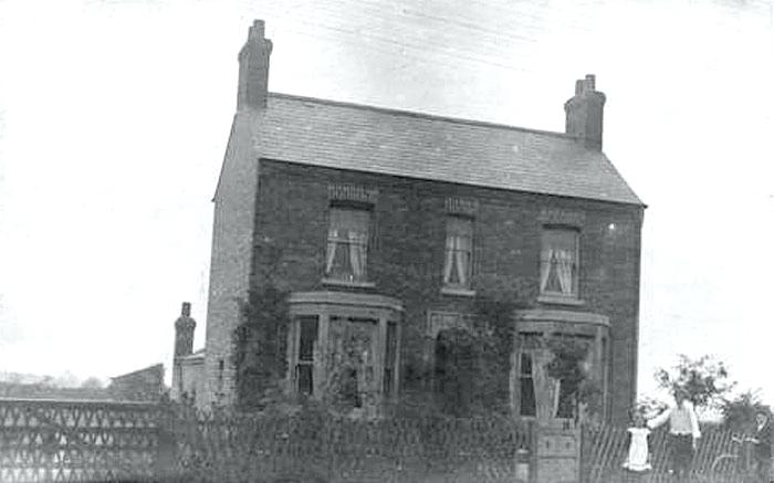 cherry house werrington this photo is marked the cedars which was sited near to the mill and is still standing today thanks to for the