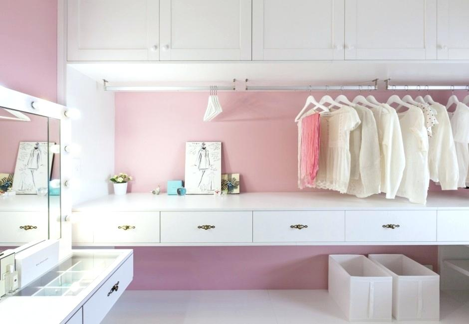 closet vanity table bedroom cute walk in closet with hanging vanity table plus lighted makeup mirror idea and stylish interior design games