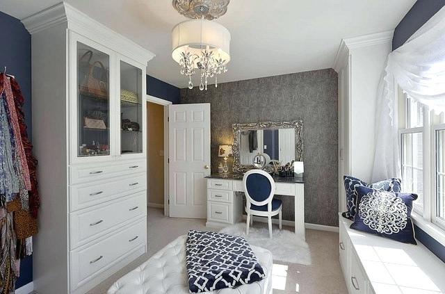closet vanity table custom closet room with vanity table interior decoration school in dubai
