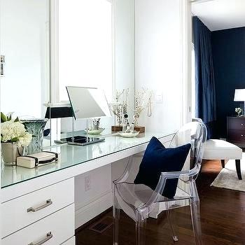 closet vanity table glass top dressing table with ghost chair interior decoration living room small