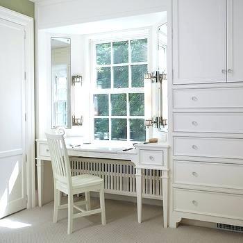 closet vanity table transitional interior decorating styles