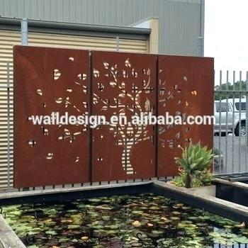 decorative wall panels outdoor metal