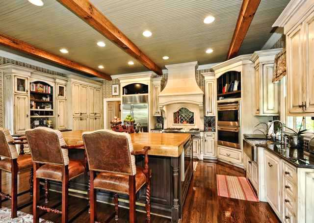 exposed beams images dark floors exposed beams and white distressed cabinets exposed ceiling beams images