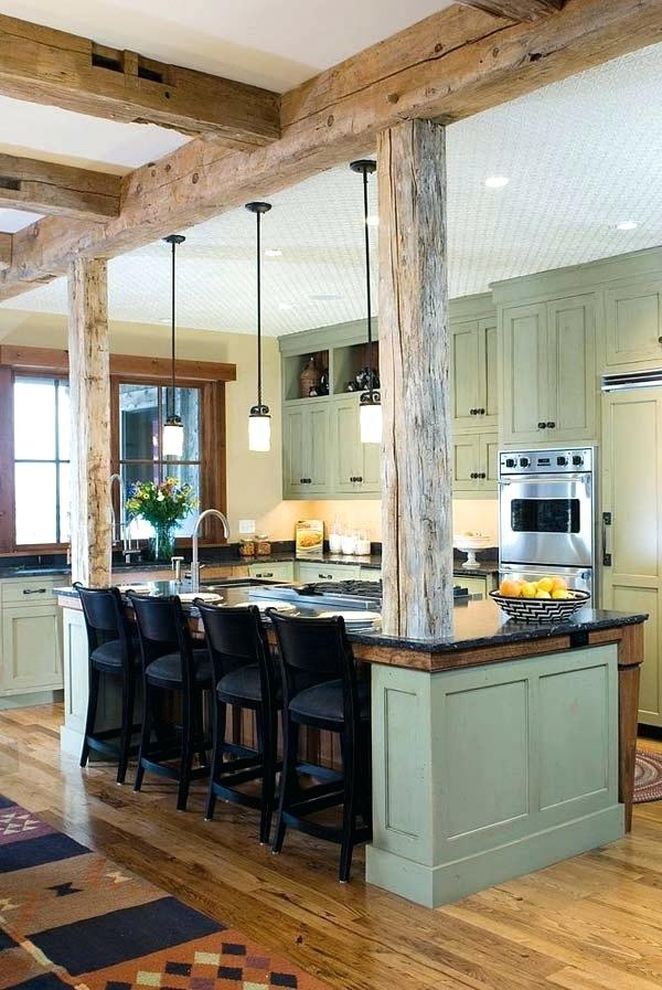 exposed beams images raw wooden structure defining a splendid kitchen exposed ceiling beams images