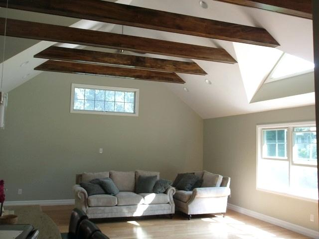 exposed beams images vaulted ceiling exposed beams contemporary family room exposed ceiling beams images