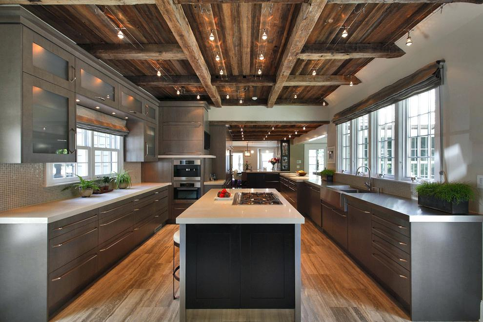 exposed beams in kitchen wood beam ceiling with contemporary ovens kitchen contemporary and wood ceiling exposed beams kitchen ceiling