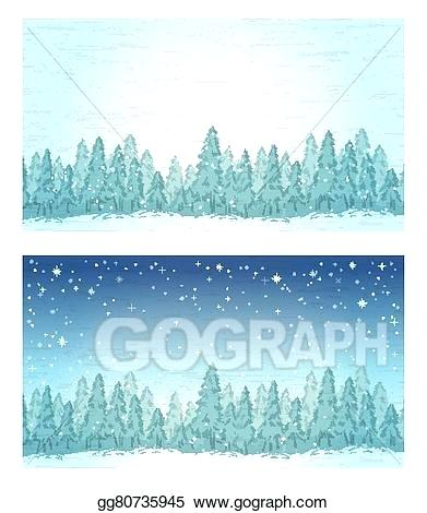 forest landscape vector vector stock vintage winter forest landscape and night forest landscape vector stock clip art forest landscape 27 vector