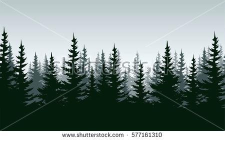 forest landscape vector vector woodland forest landscape forest landscape 27 vector