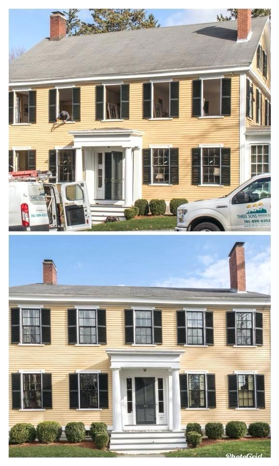 harvey building products woburn ma the contractors on the job installed two different styles of the window the building products majesty windows and architect windows harvey building products woburn m