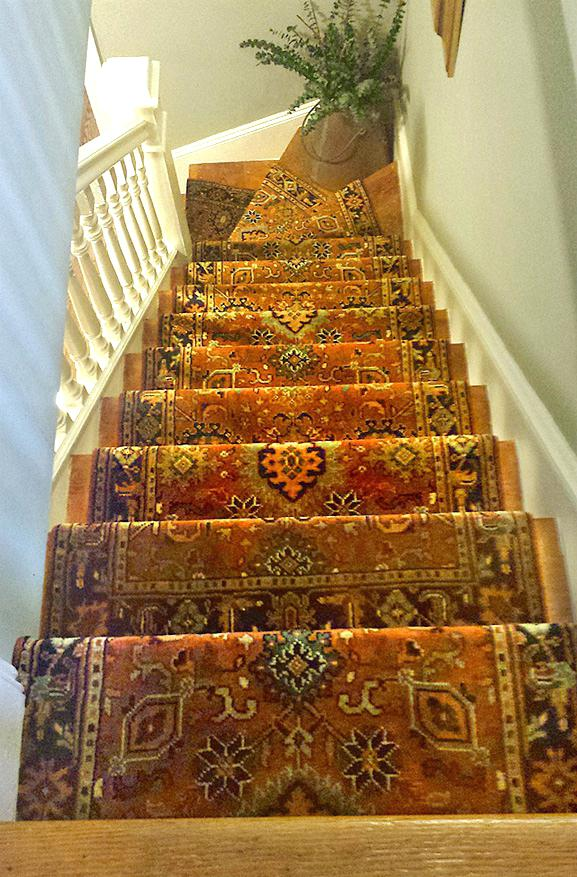pics of stairs with runners staircase rug runner