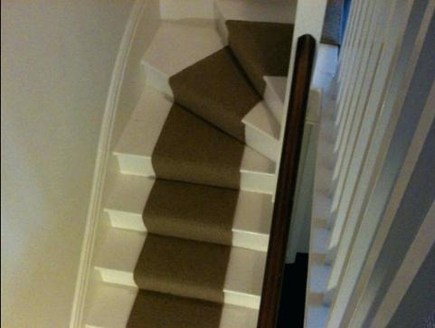 pics of stairs with runners
