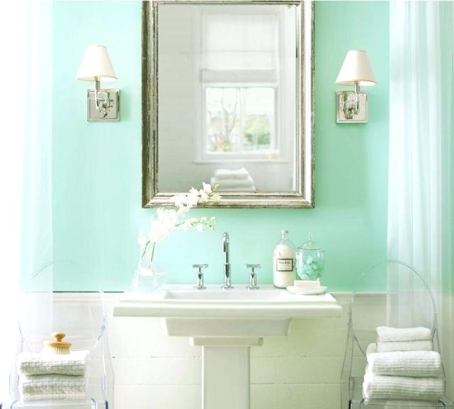 seafoam green bathroom paint add dimension to your guest bathroom with subtle colors like this soft sea foam green prepare for holiday house guests paint your guest bathroom from interior decoration c