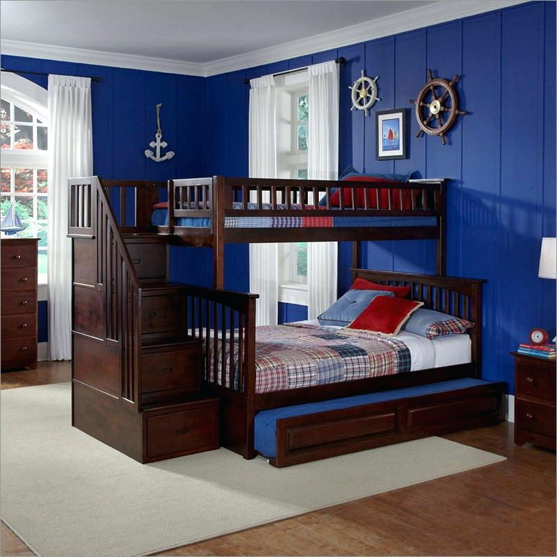 twin over queen bunk bed with trundle how interesting twin over twin bunk beds with stairs and trundle twin over queen bunk bed