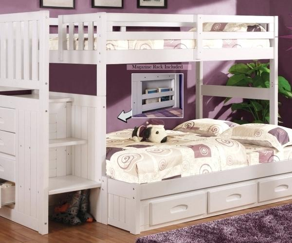 twin over queen bunk bed with trundle medium size of imposing stairs twin over full bunk bed also stairs full over queen