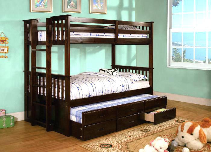 twin over queen bunk bed with trundle twin over queen bed university cm exp dark walnut twin over twin trundle bunk bed twin