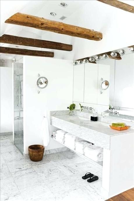 exposed beams in bathroom yummy marble and wood beam bathroom exposed beams bathroom