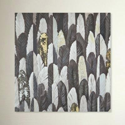 feather wall art metal studio golden feathers wall decor
