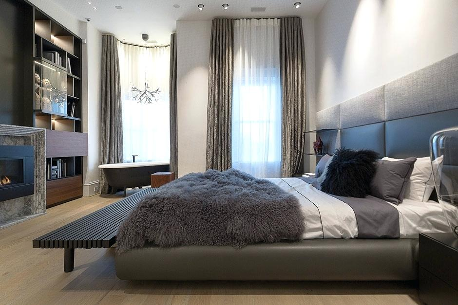 poliform usa inc master bedroom with library by bathtub by agape chandelier by poliform usa facebook