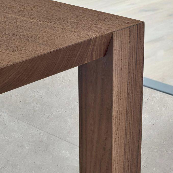 poliform usa inc wood grain details of our blade dining table in poliform usa facebook