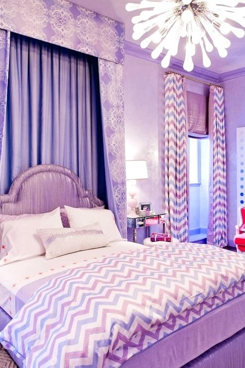 purple walls pink curtains purple bedrooms interior decoration games online