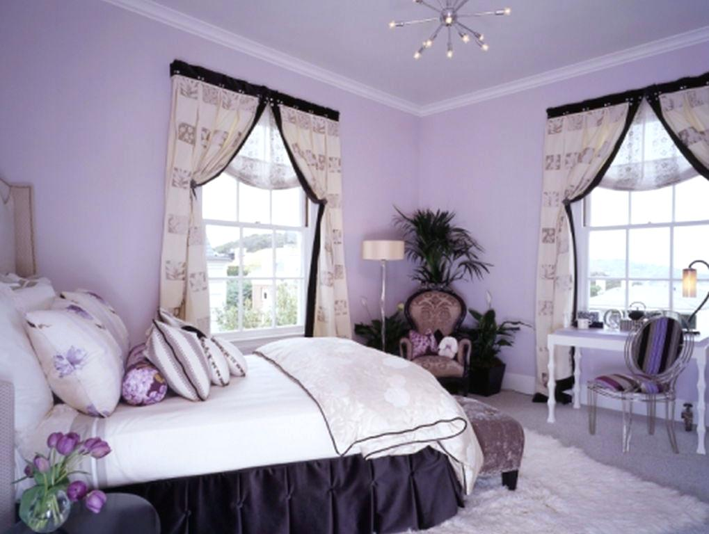 purple walls pink curtains teens teenage bedroom design with rectangle white door and pink wall color also interior decoration stores in lagos