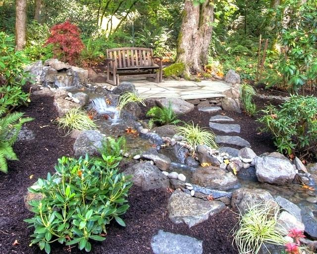 rustic landscaping ideas private paradise landscaping rustic landscape
