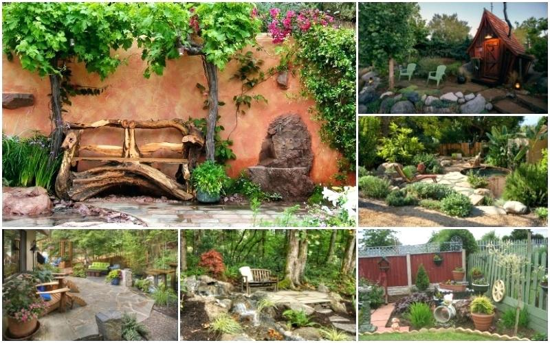 rustic landscaping ideas wonderful rustic landscape designs only for your eyes