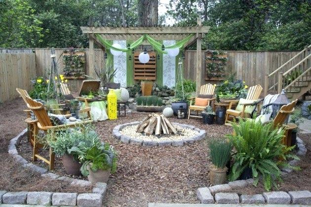 rustic landscaping ideas wonderful rustic landscape ideas to turn your backyard into heaven