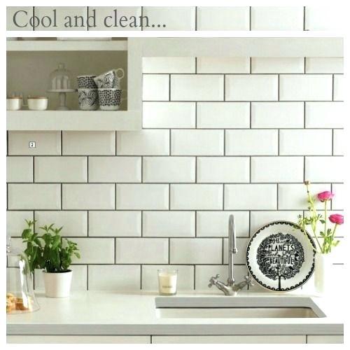 white tiles grey grout kitchen white subway tile gray grout not black too stark i