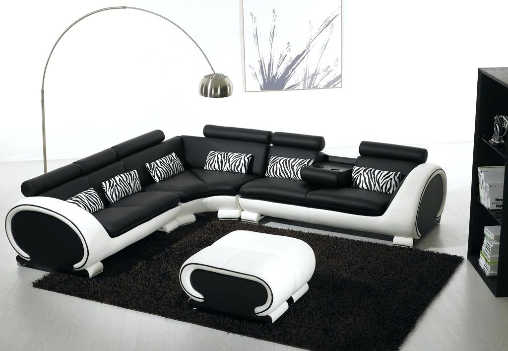 black and white sofa black and white sectional leather sofa for modern living room