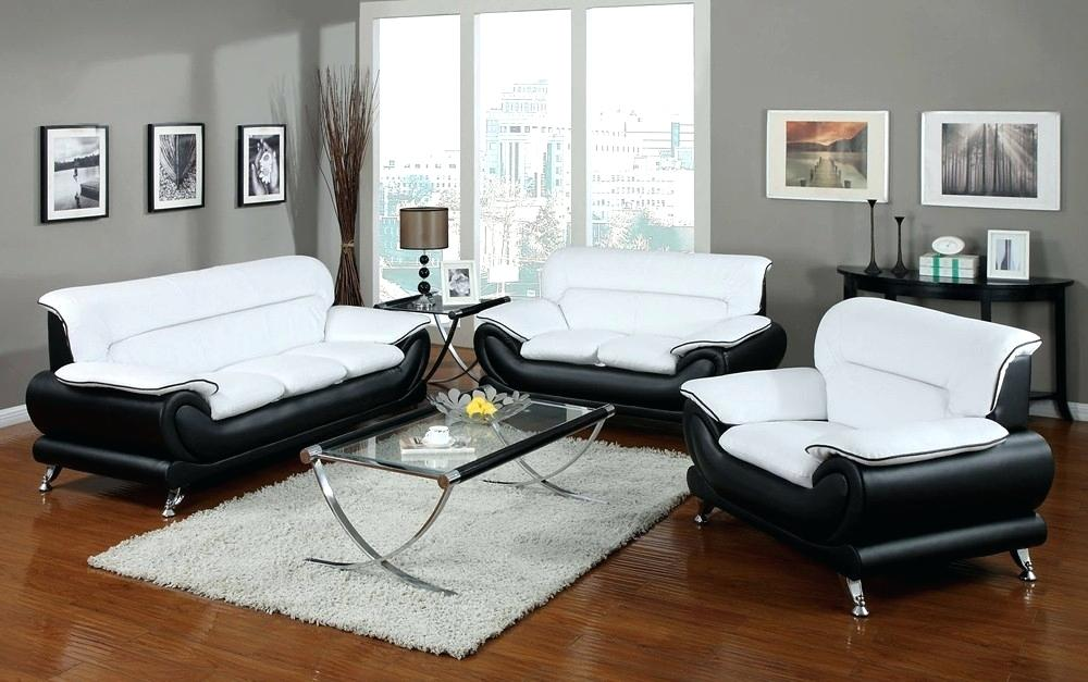 black and white sofa modern black and white sofa set