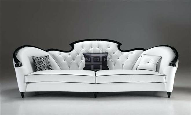 black and white sofa sofa with contrast of black and white