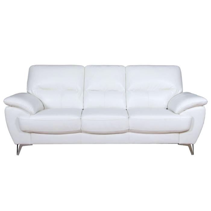 black and white sofa white faux leather sofa