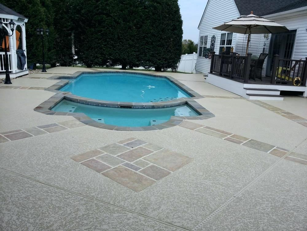 concrete pool deck resurface concrete pool deck resurfacing