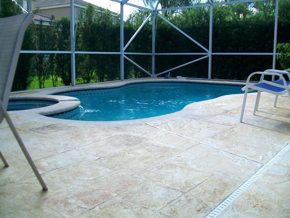 concrete pool deck resurface concrete pool deck
