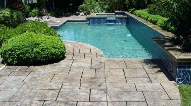 concrete pool deck resurface of concrete pool deck resurfacing