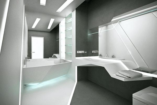 futuristic bathroom design futuristic bathroom on futuristic bathroom interior designs