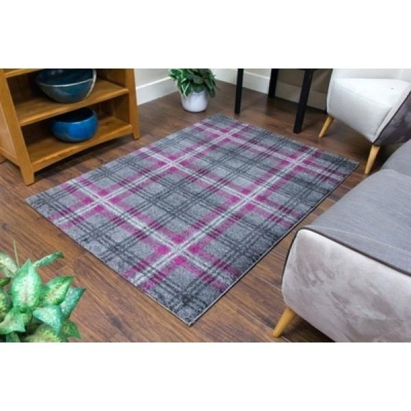 purple and beige rug modern tartan runner rug grey purple purple beige rug