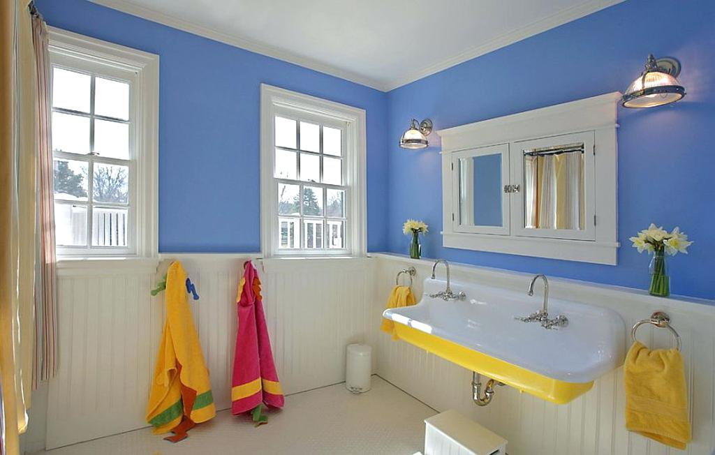 yellow bathtub color scheme blue and white bathroom with sink in yellow interior decorating styles australia
