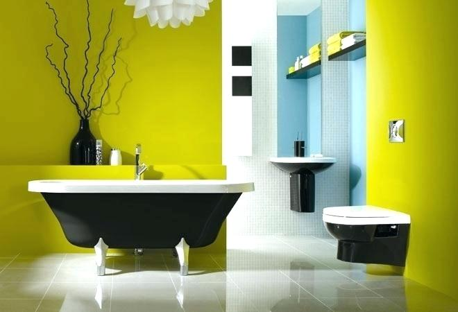 yellow bathtub color scheme cool bathroom colors related posts bathroom color schemes blue gray interior decoration stores near me