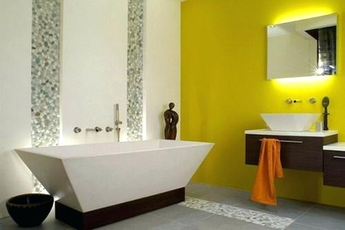 Yellow Bathtub Color Scheme Full Size Of Bathroom Bathroom Color ...