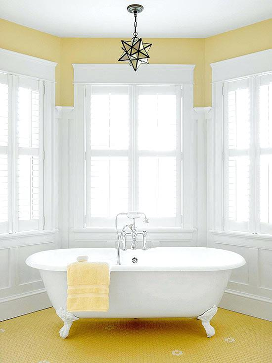 yellow bathtub color scheme happy feet interior decoration courses fees
