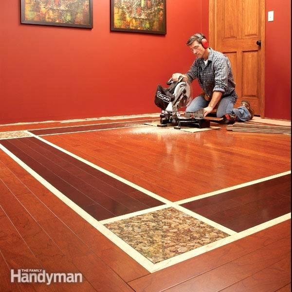 tile and hardwood floors together hardwood floors lay a contrasting border hardwood floor vs tile that looks like wood