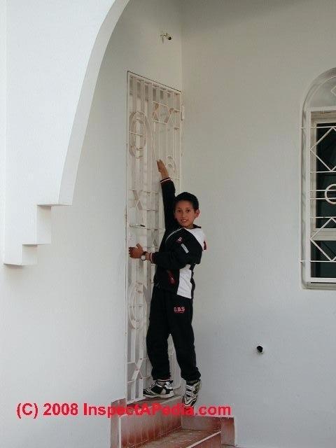 door at top of stairs regulations missing stair landing morocco c door at top of stairs regulations