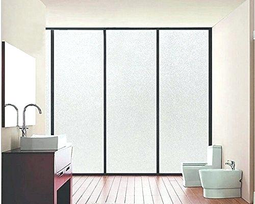 sliding glass door privacy film window films color your world vinyl non adhesive waterproof clear white frosted front sliding door privacy glass window film x
