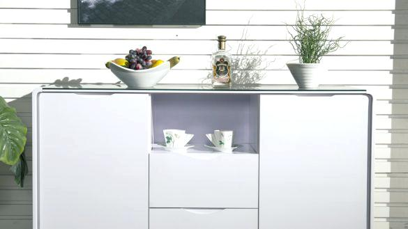 white sideboard modern black sideboard buffet modern sideboards buffets kitchen dining room furniture the home with regard to mono white sideboard modern