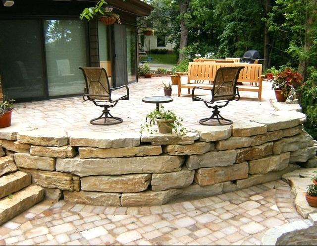 rustic landscaping ideas for a backyard garden design with rustic landscaping stones and with backyards designs from com