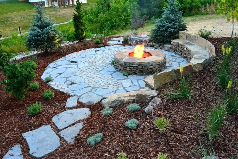 rustic landscaping ideas for a backyard rustic landscaping ideas landscape rustic with stone fire pit stone stone fire pit
