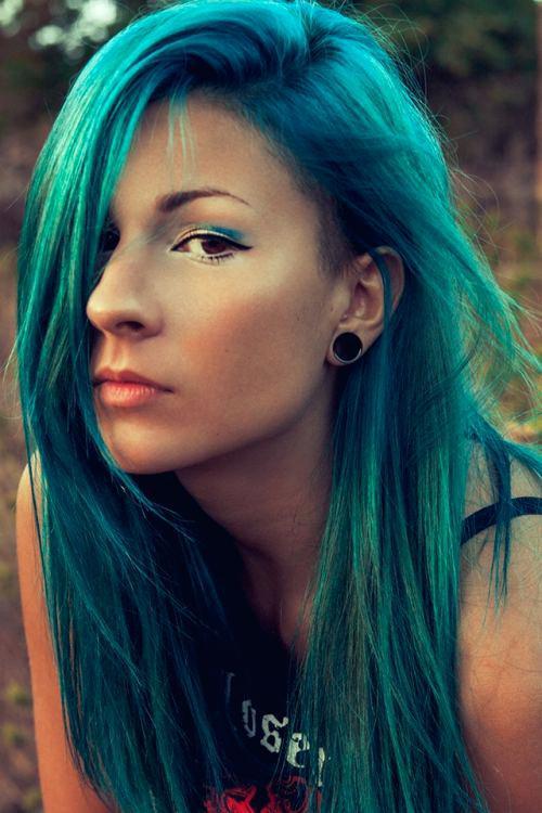 shades of teal hair greenish teal teal blue hair color