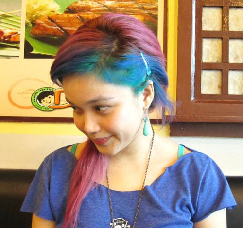 shades of teal hair image blue teal hair tips